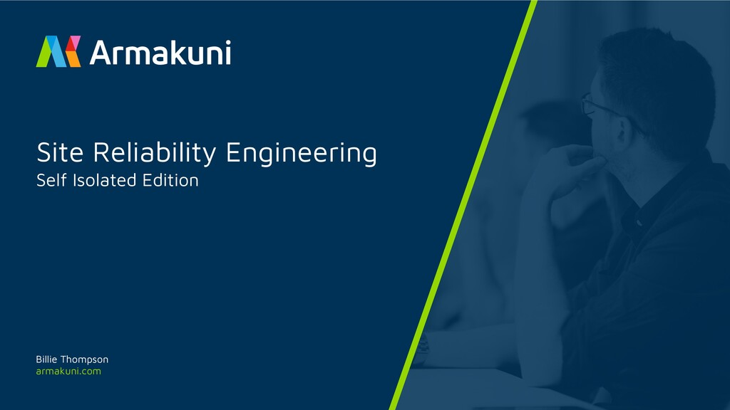 armakuni.com Site Reliability Engineering Self ...
