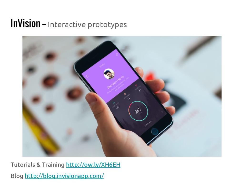 InVision -- Interactive prototypes Tutorials & ...