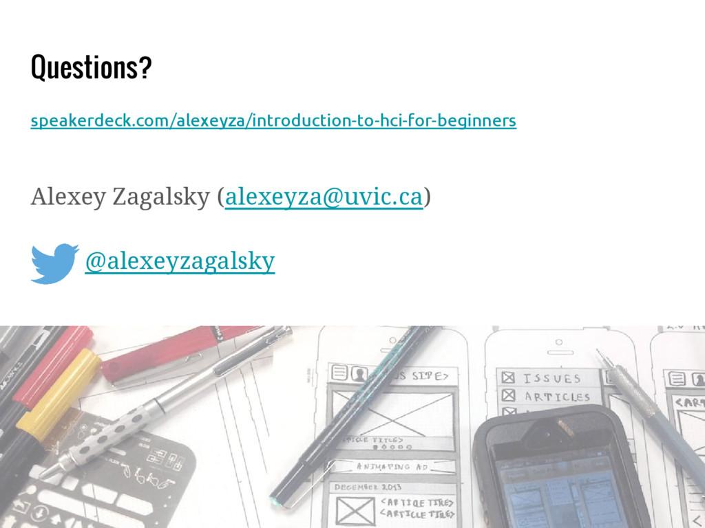 Questions? speakerdeck.com/alexeyza/introductio...