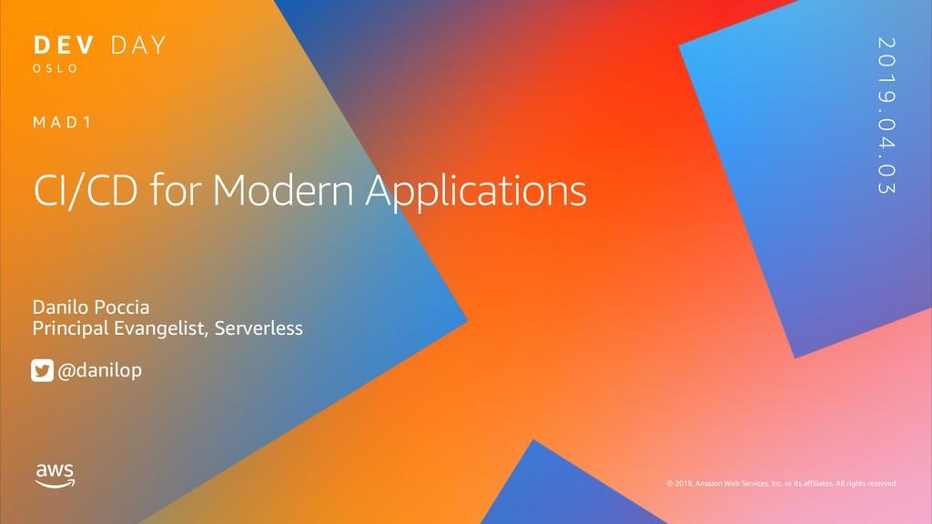 CI/CD for Modern Applications
