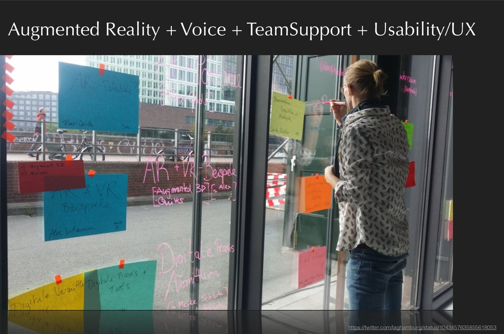 Augmented Reality + Voice + TeamSupport + Usabi...