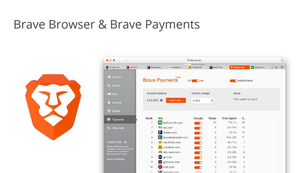 Brave Browser & Brave Payments
