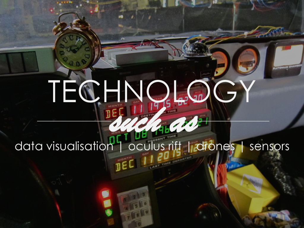 TECHNOLOGY such as data visualisation | oculus ...