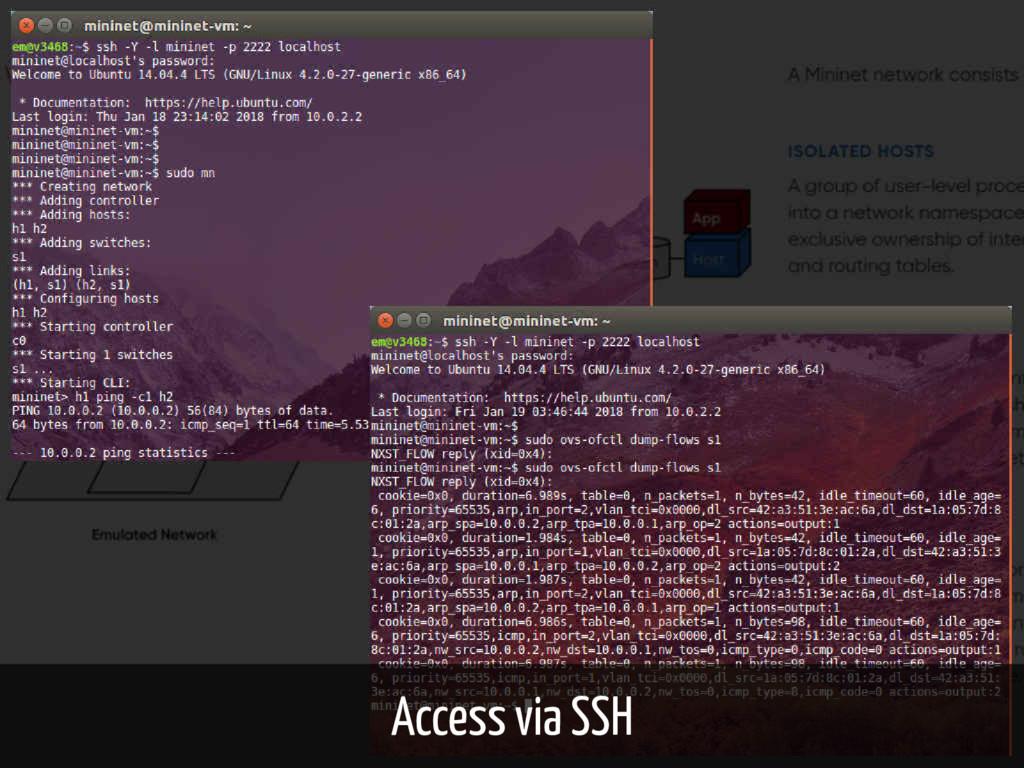 Access via SSH 16 / 61