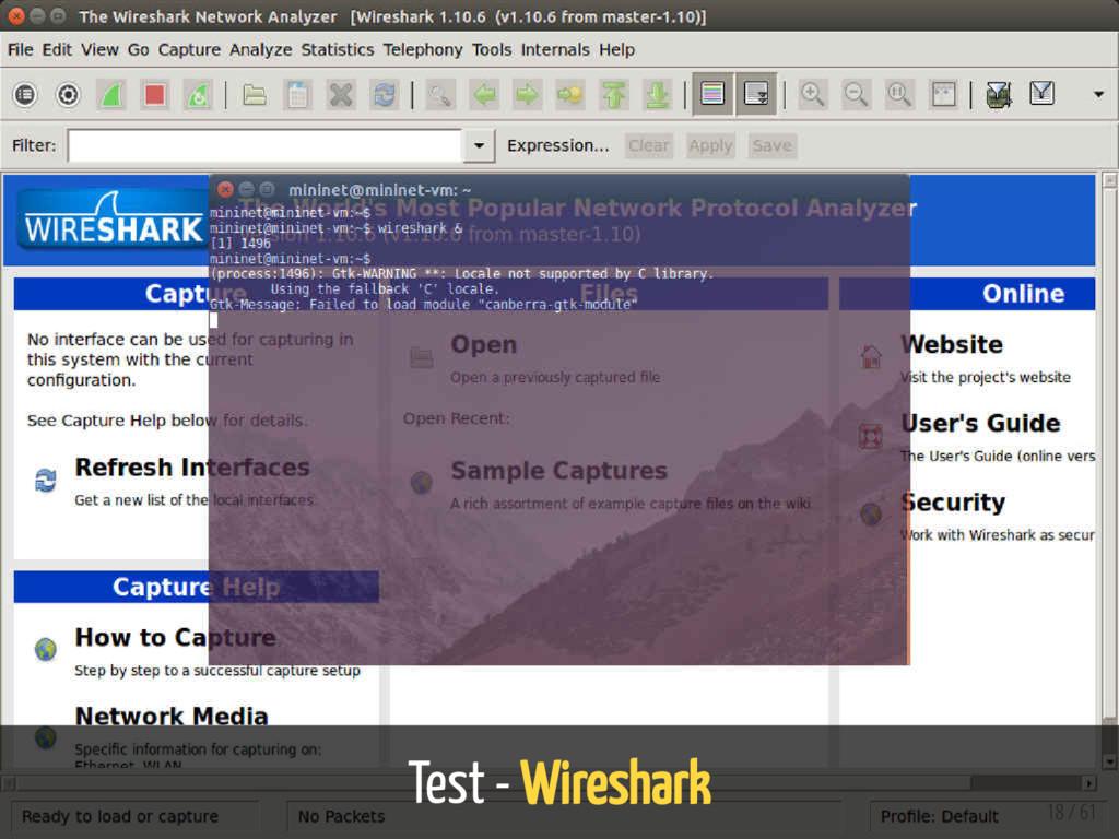 Test - Wireshark 18 / 61