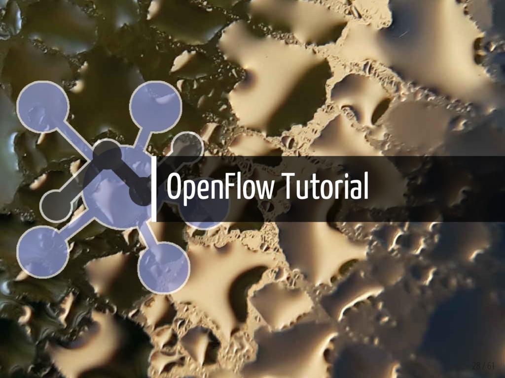 OpenFlow Tutorial 28 / 61
