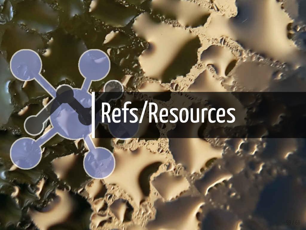 Refs/Resources 59 / 61
