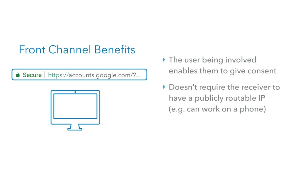 Front Channel Benefits https://accounts.google....