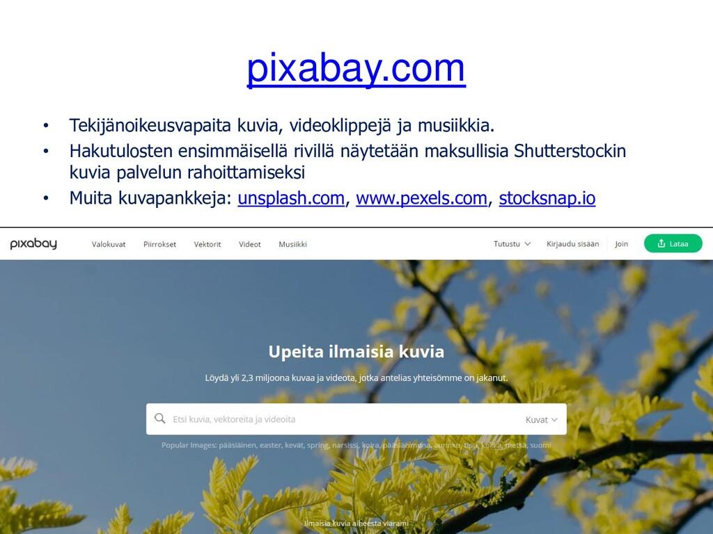 pixabay.com • Tekijänoikeusvapaita kuvia, video...