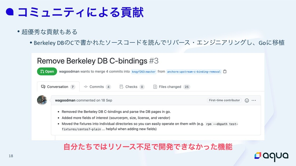 18 ίϛϡχςΟʹΑΔߩݙ • ༏लͳߩݙ͋Δ • Berkeley DBͷCͰॻ͔Εͨ...
