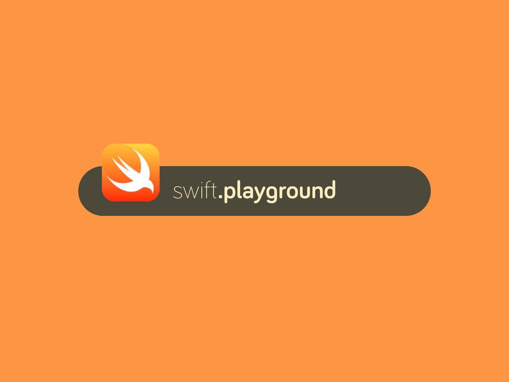swift.playground