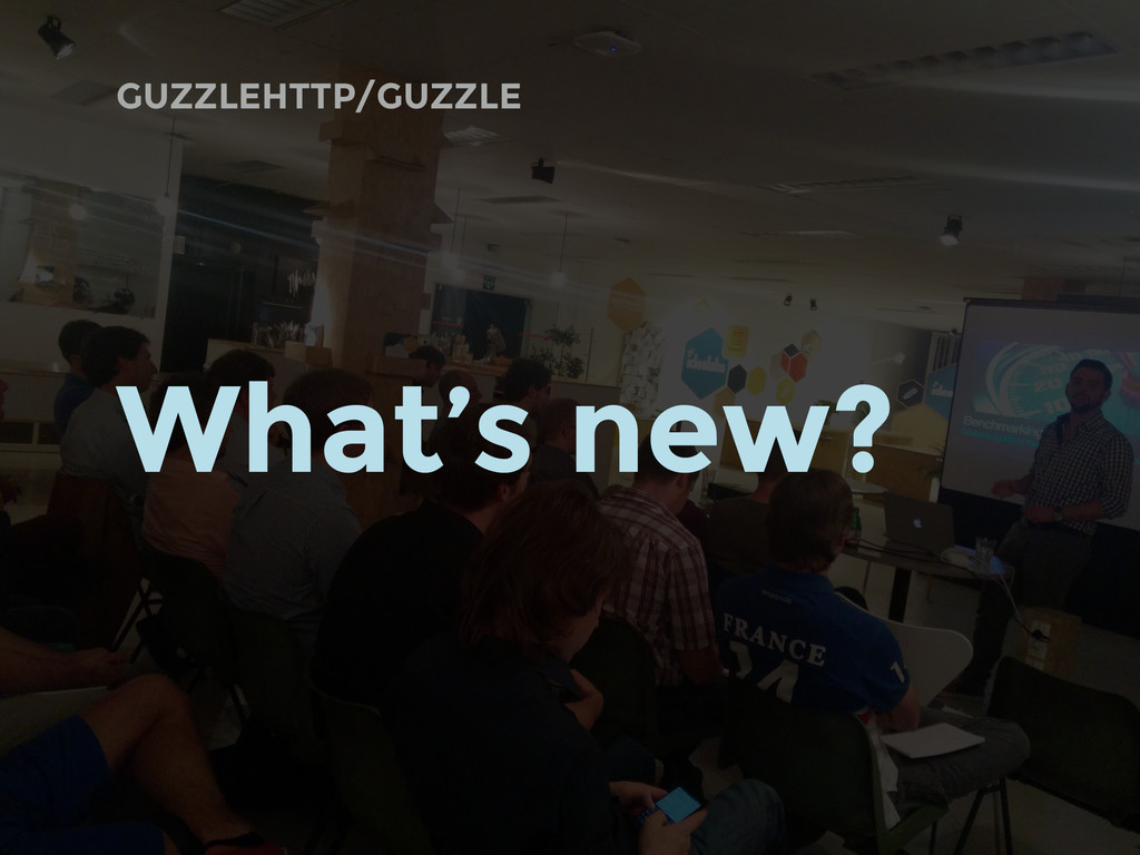 GUZZLEHTTP/GUZZLE What's new?
