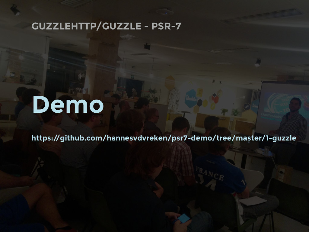 GUZZLEHTTP/GUZZLE - PSR-7 Demo https:/ /github....