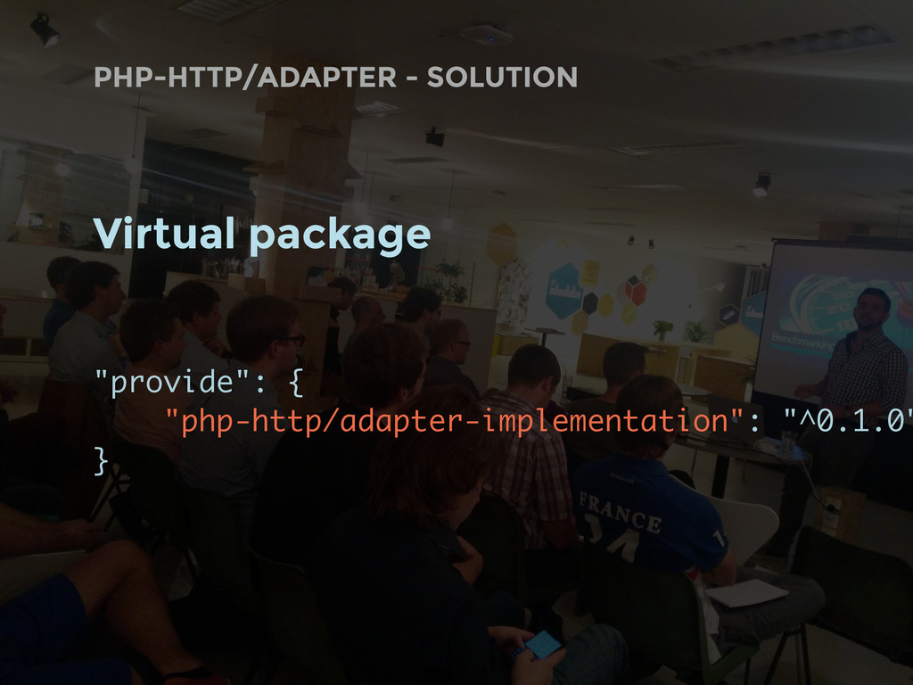 """PHP-HTTP/ADAPTER - SOLUTION Virtual package """"pr..."""