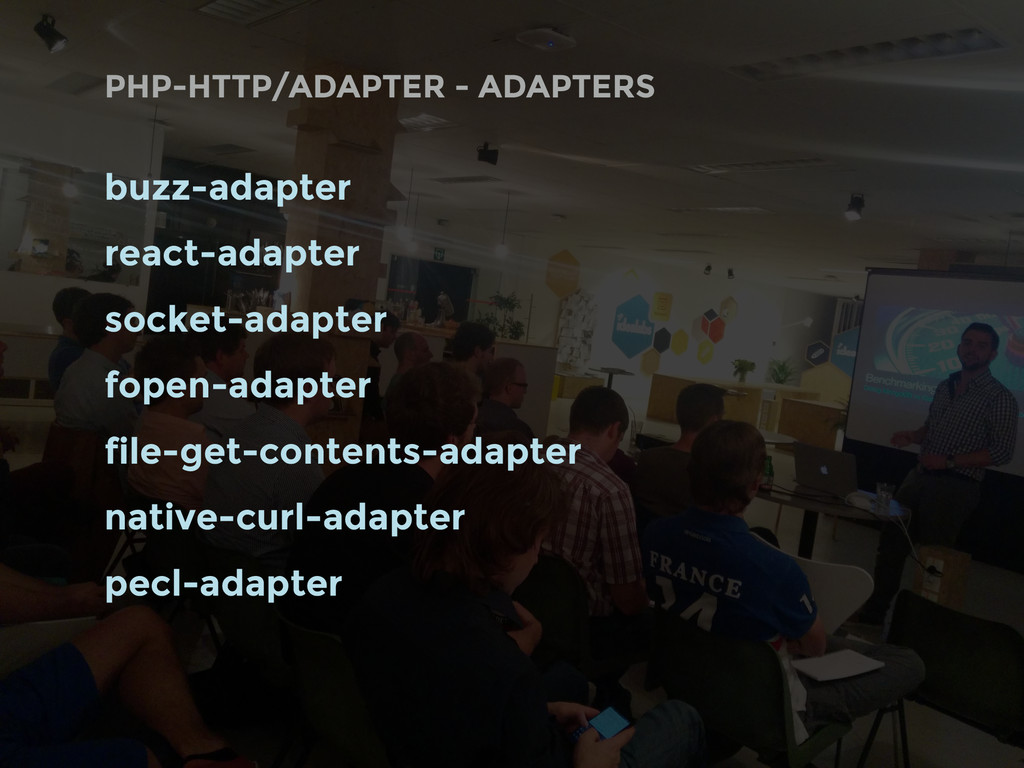 PHP-HTTP/ADAPTER - ADAPTERS buzz-adapter react-...