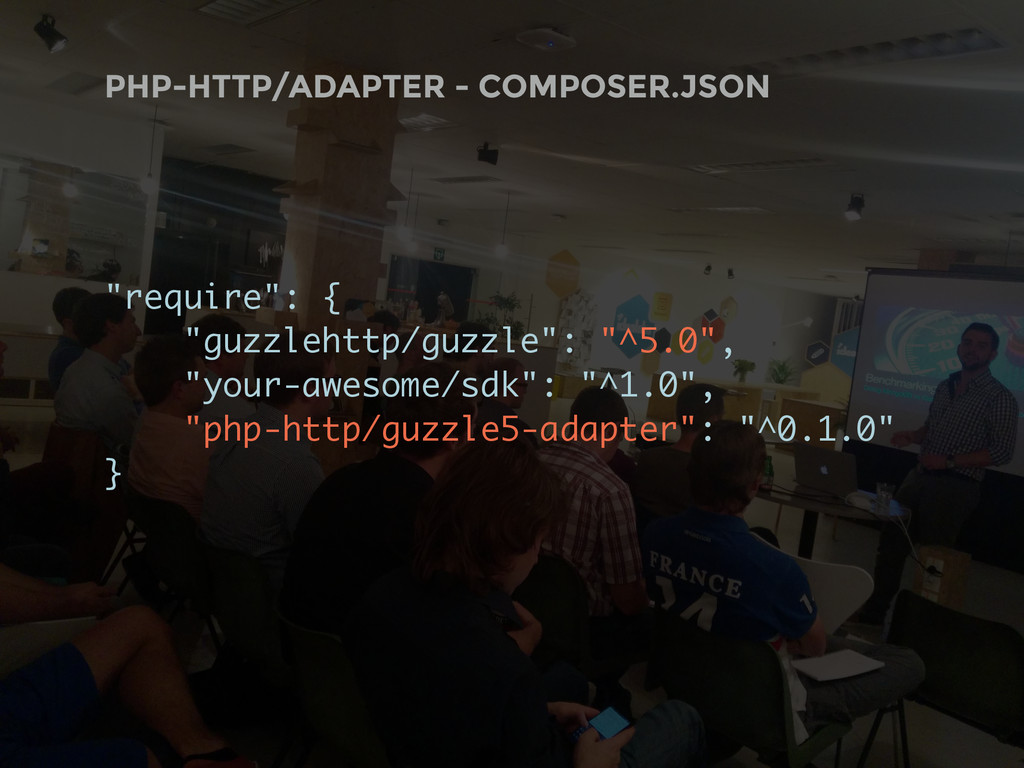 """PHP-HTTP/ADAPTER - COMPOSER.JSON """"require"""": { """"..."""