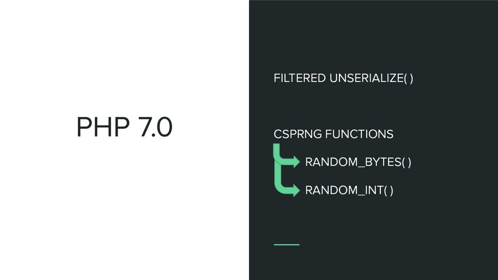 PHP 7.0 FILTERED UNSERIALIZE( ) CSPRNG FUNCTION...