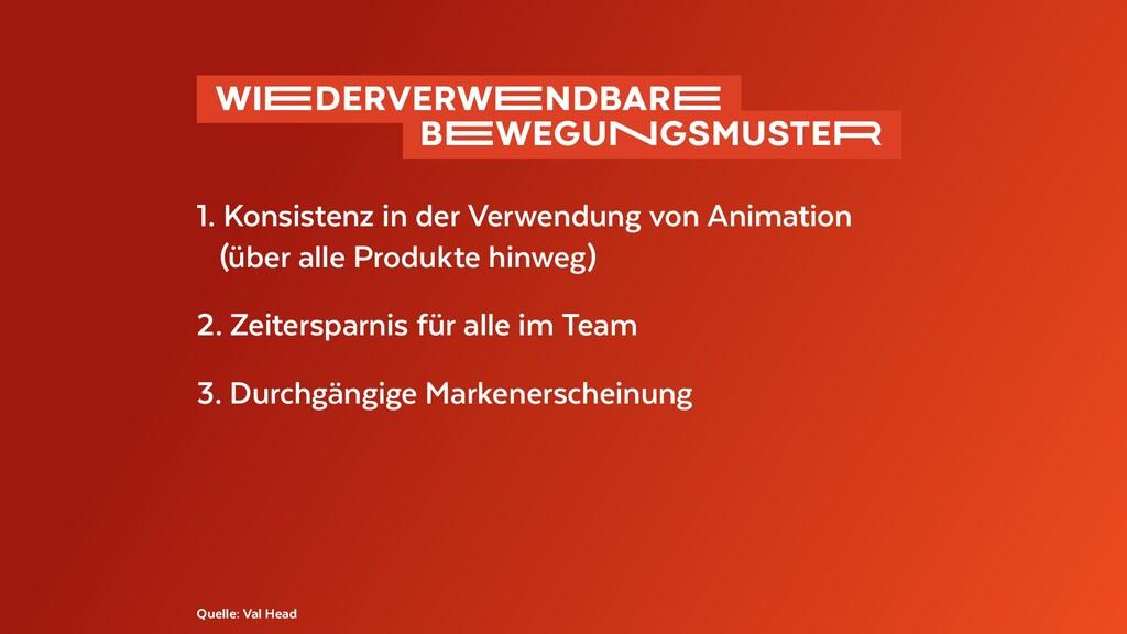 1. Konsistenz in der Verwendung von Animation (...