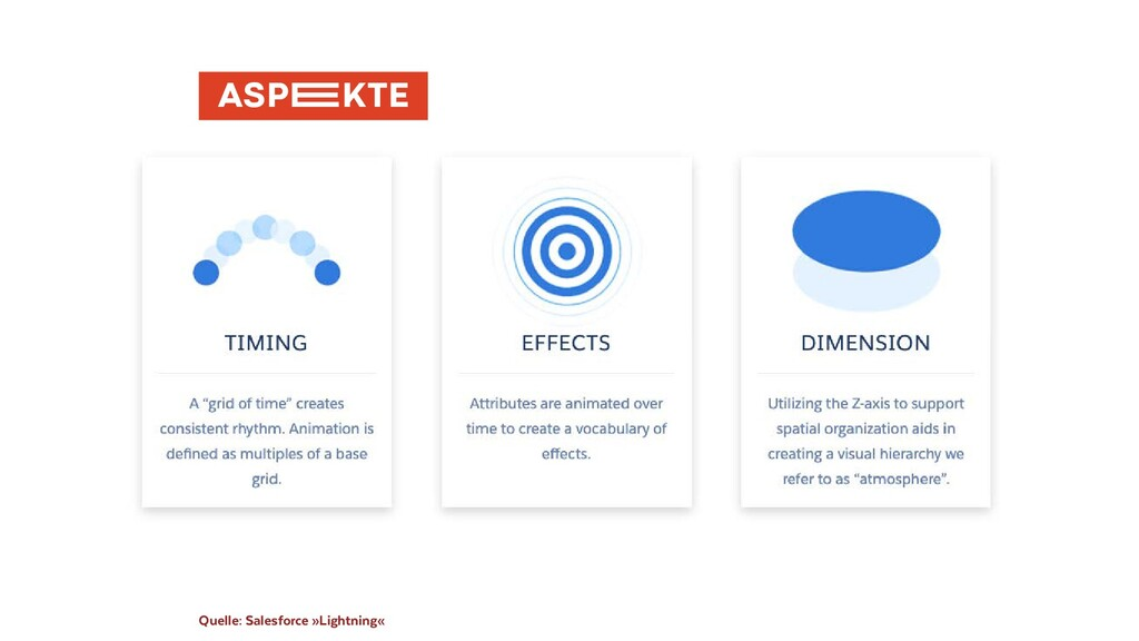 Quelle: Salesforce »Lightning«  ASP�KTE