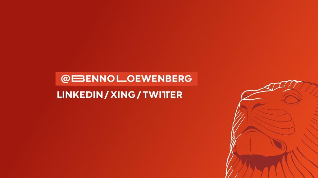 @�ENNO�OEWENBERG LINKEDIN/XING/TWI�ER