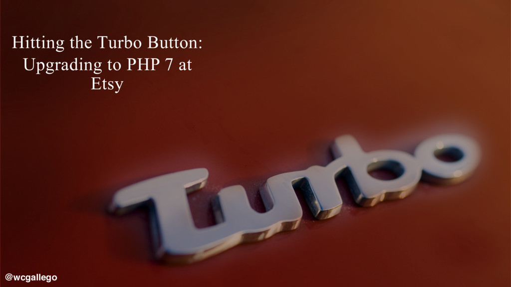 1  Hitting the Turbo Button: Upgrading to PHP ...