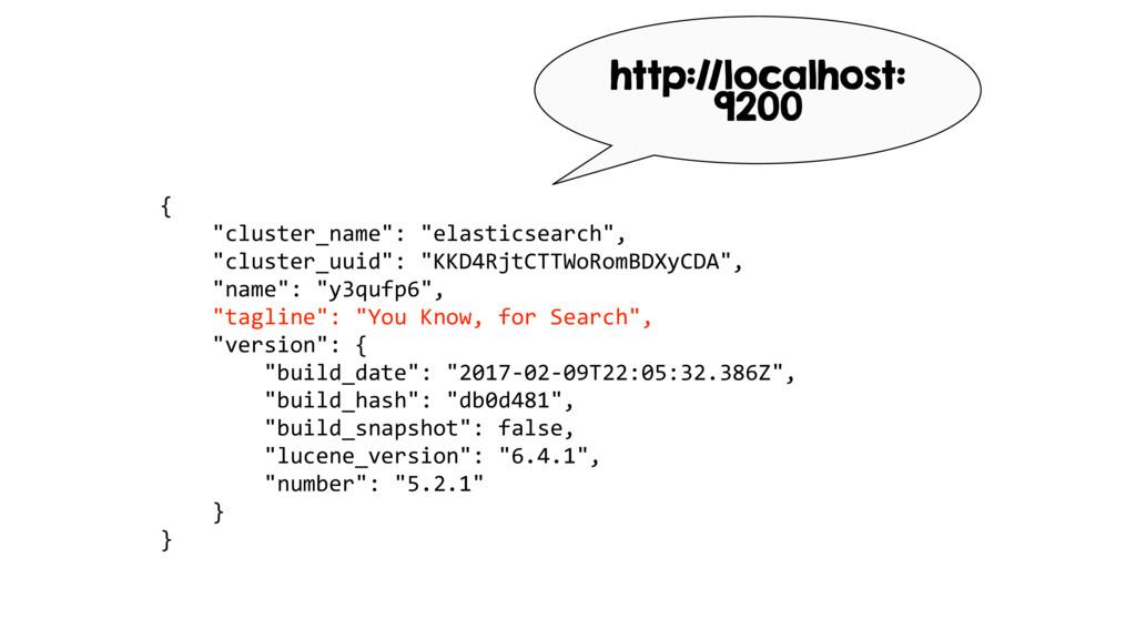 "{ ""cluster_name"": ""elasticsearch"", ""cluster_uui..."