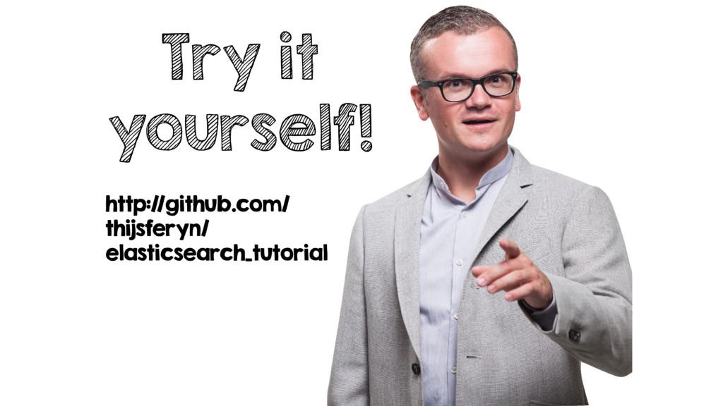 Try it yourself! http://github.com/ thijsferyn/...