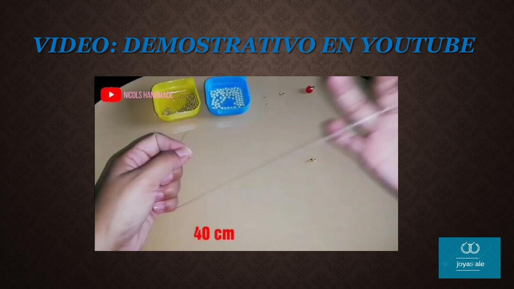 VIDEO: DEMOSTRATIVO EN YOUTUBE