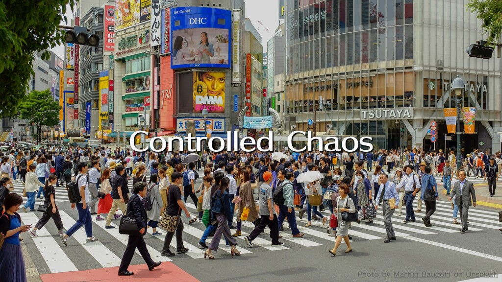 Controlled Chaos Photo by Martijn Baudoin on Un...