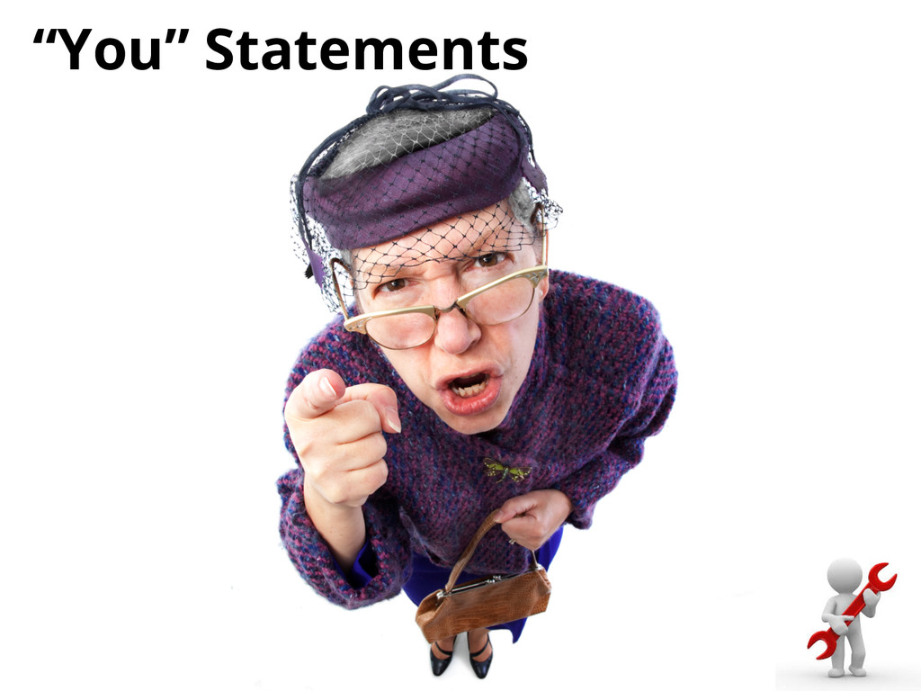 """""""You"""" Statements"""