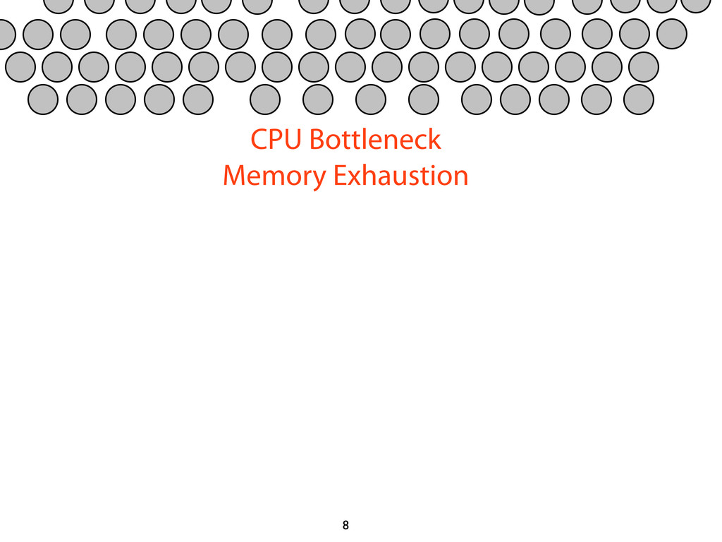 8 CPU Bottleneck Memory Exhaustion