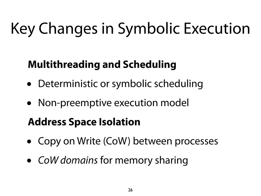 Key Changes in Symbolic Execution Multithreadin...
