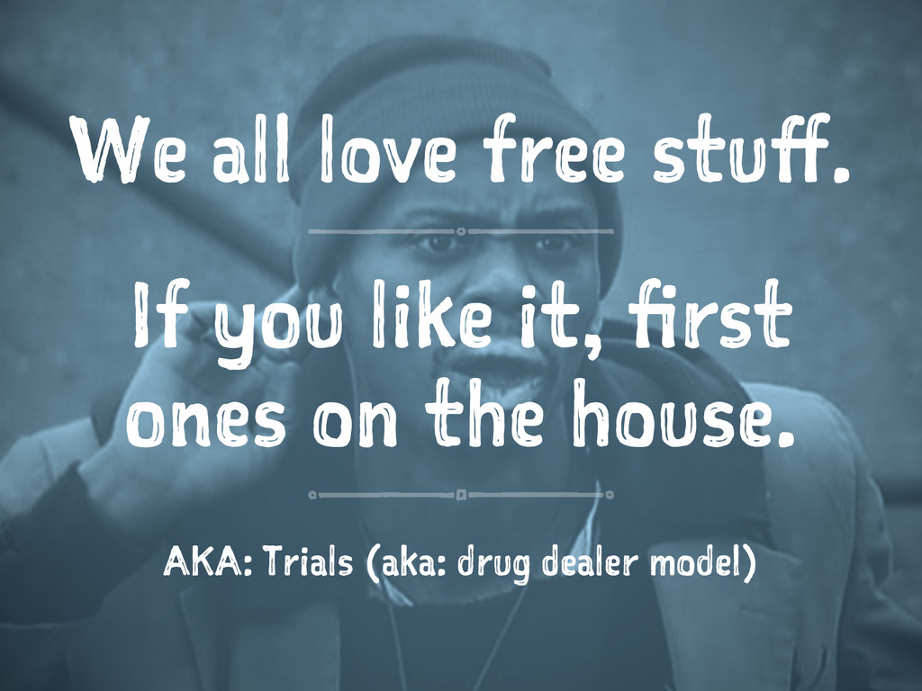 We all love free stuff. If you like it, first o...