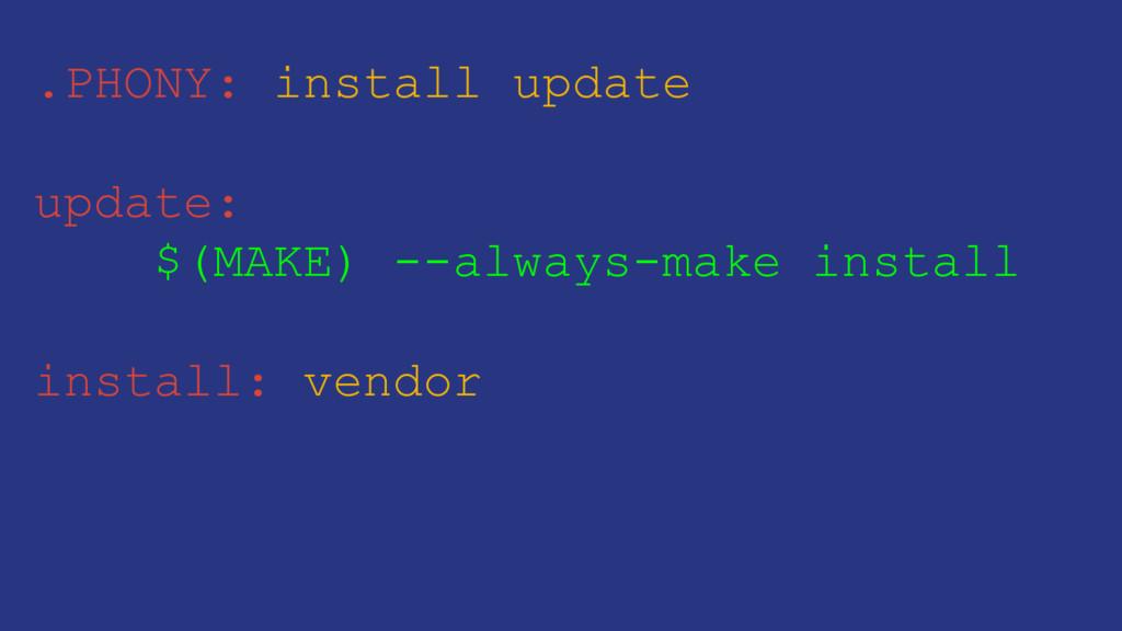 .PHONY: install update update: $(MAKE) --always...