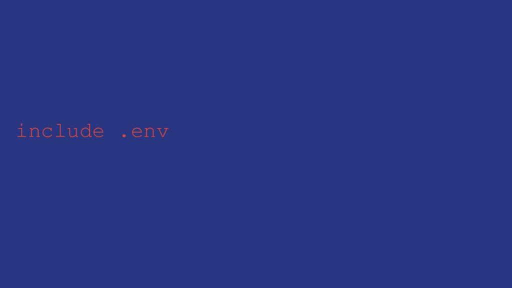 include .env