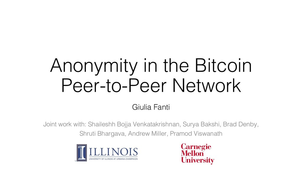 Anonymity in the Bitcoin Peer-to-Peer Network J...