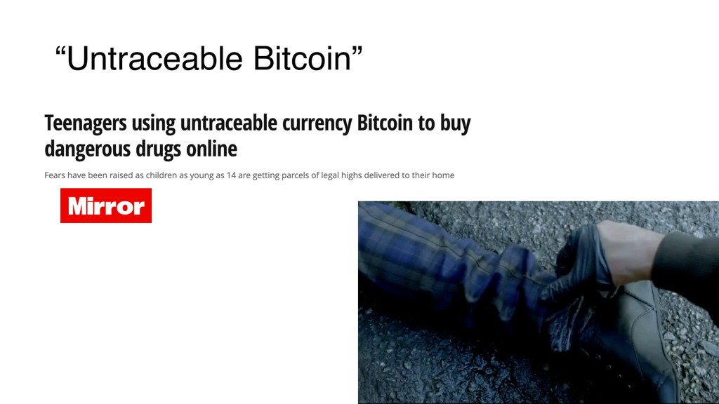 """Untraceable Bitcoin"""