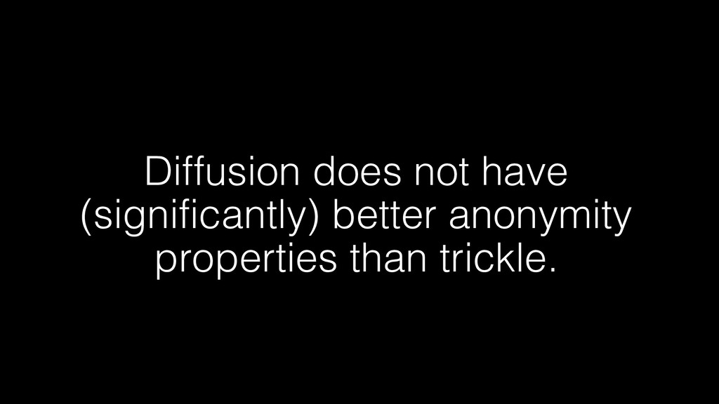 Diffusion does not have (significantly) better ...