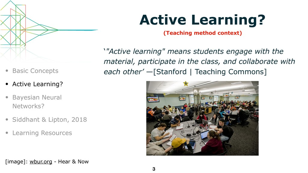 """Active Learning? '""""Active learning"""" means stude..."""
