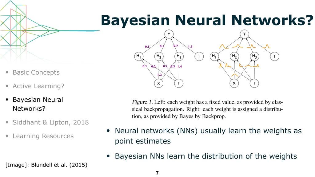 Bayesian Neural Networks? • Neural networks (NN...