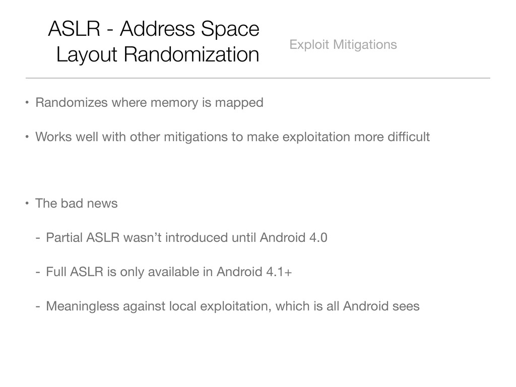 ASLR - Address Space Layout Randomization Explo...