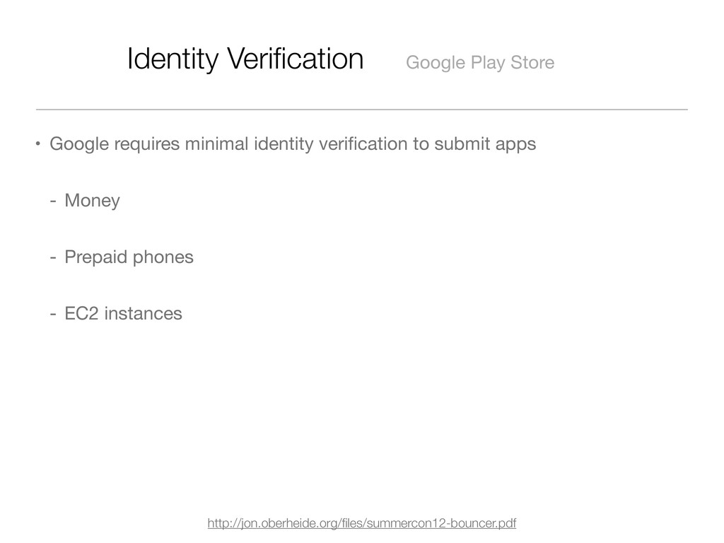 Identity Verification Google Play Store • Google...