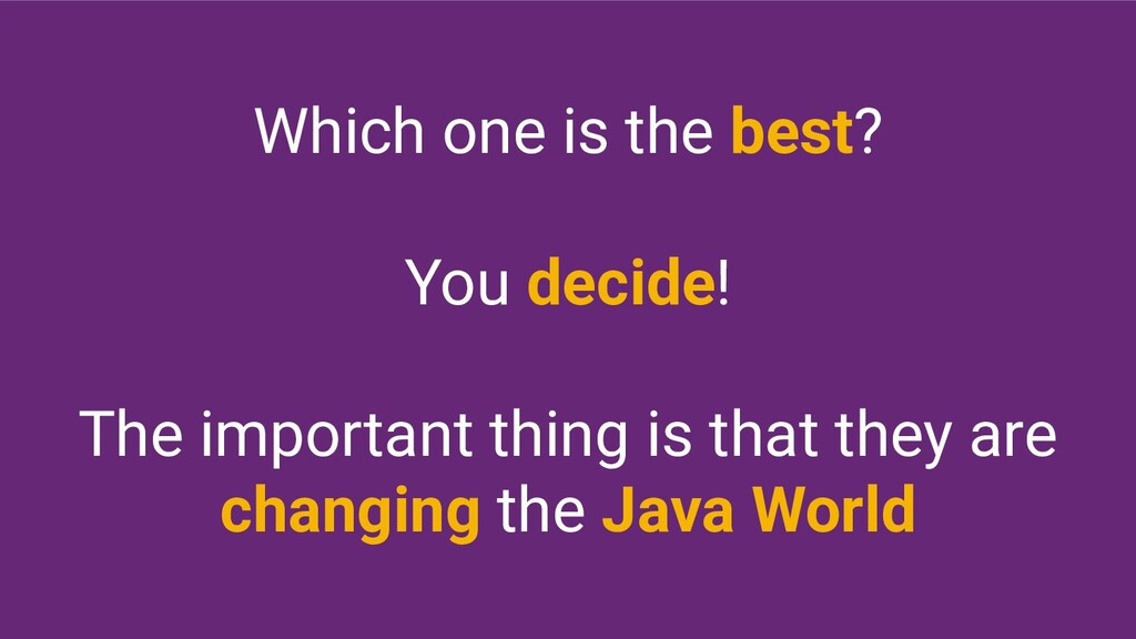 Which one is the best? You decide! The importan...