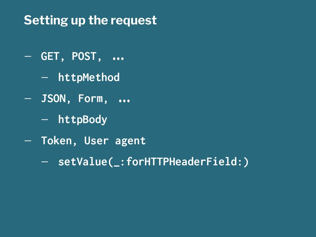 """Setting up the request — GET, POST, !""""# — httpM..."""