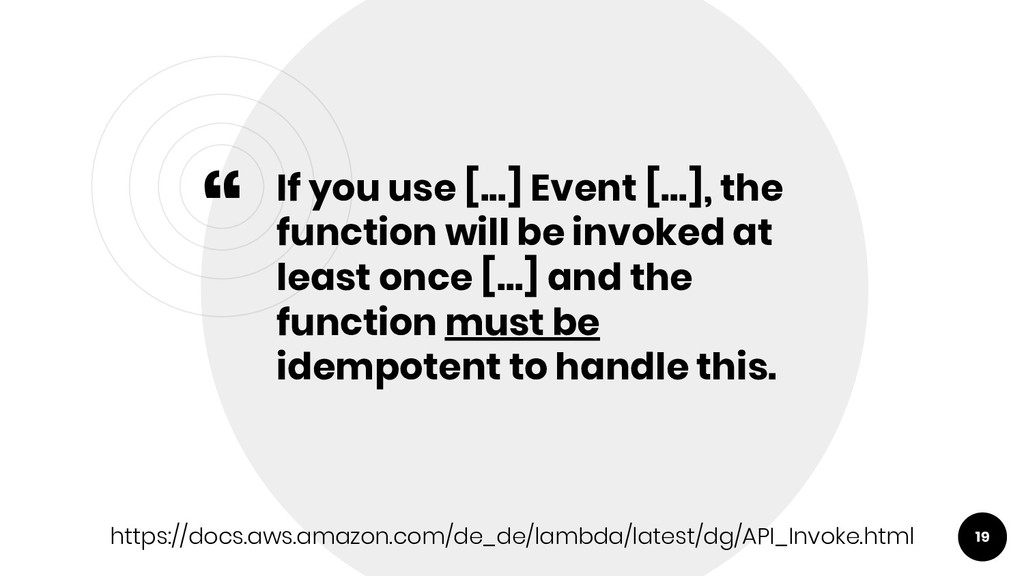 """"""" If you use [...] Event [...], the function wi..."""