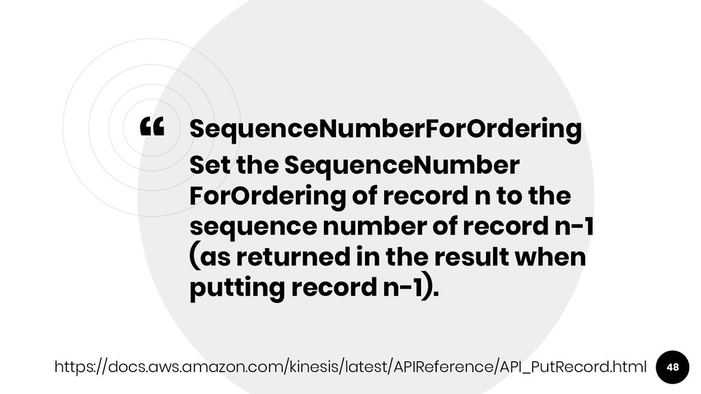 """ SequenceNumberForOrdering Set the SequenceNum..."