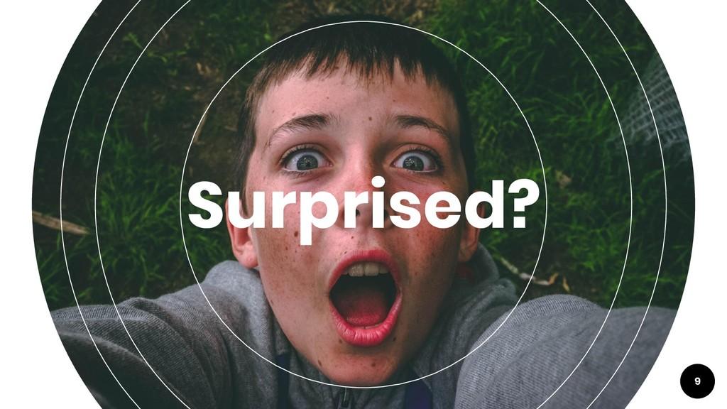 Surprised? 9