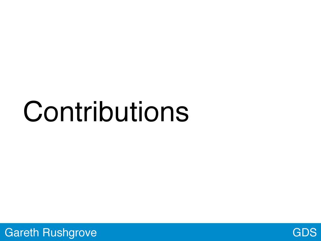 GDS Gareth Rushgrove Contributions