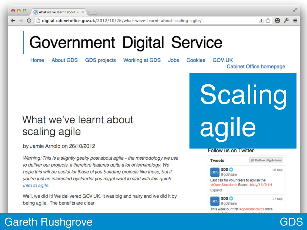 GDS Gareth Rushgrove Scaling agile