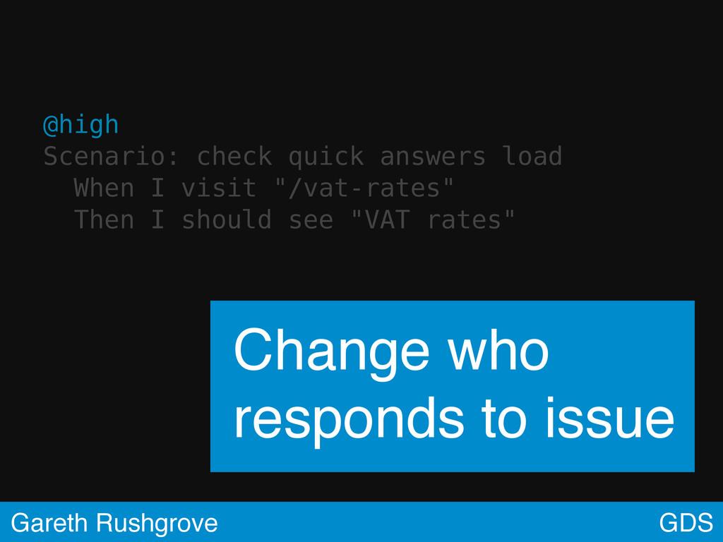 @high Scenario: check quick answers load When I...